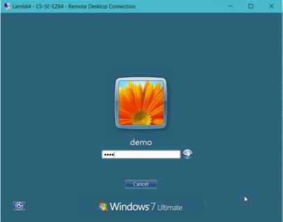 Remote Desktop Connection »