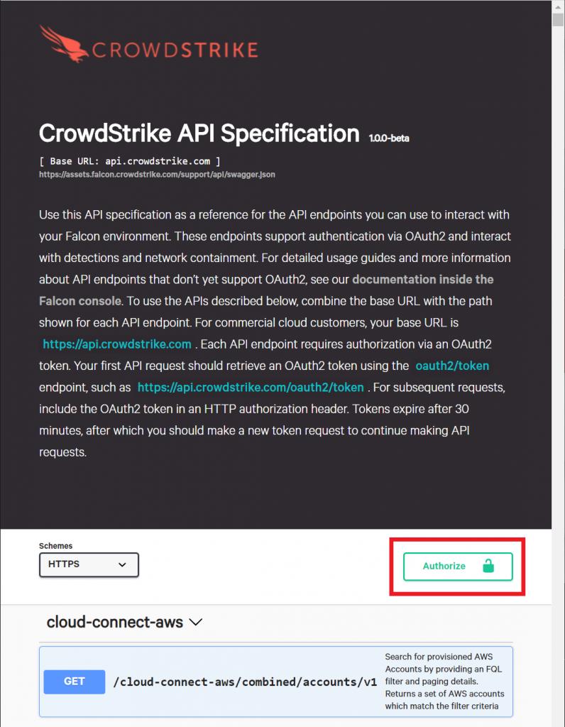Authorize API