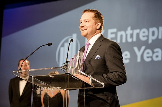 CrowdStrike CEO And Co-founder George Kurtz Wins Ernst & Young Entrepreneur Of The Year For Security