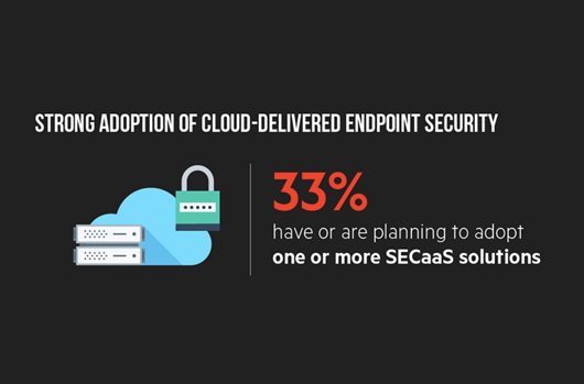 Strong adoption of cloud-delivered endpoint security
