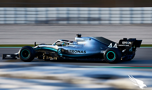 Formula 1 Racing And Stopping Breaches