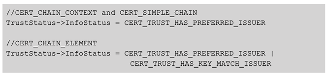 BokBot Proxy: Cert_Chain Structures