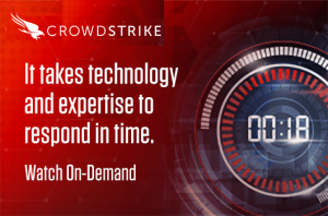 CrowdStrike Webcast Banner on Breakout Time