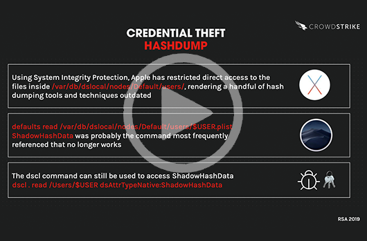 Graphic of Hashdump Credential Theft