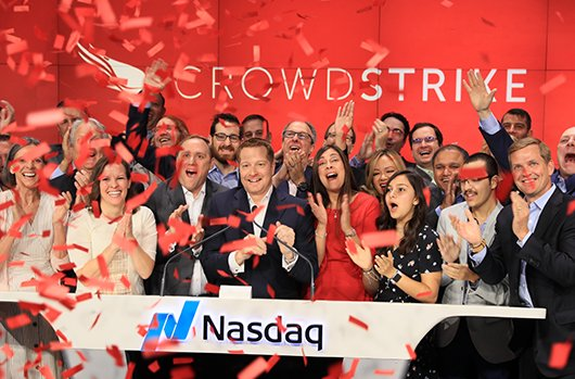 Crowdstrike celebrates IPO