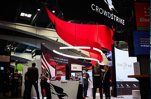 Photo Of CrowdStrike Booth