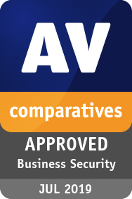 AV Comparatives 2019 Mac Security Certification Seal