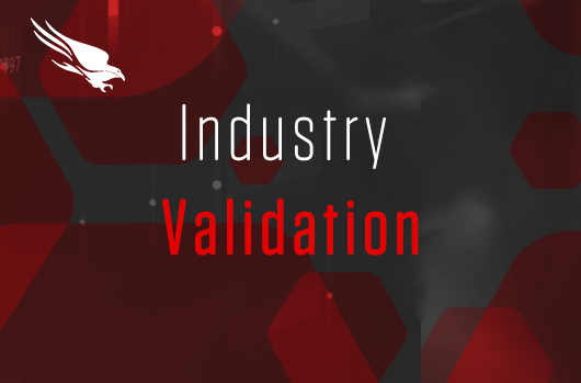 CrowdStrike Industry Validation banner