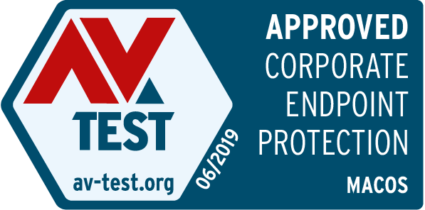 AV Test Corporate Endpoint Protection Seal