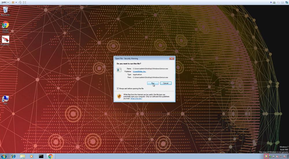 run install
