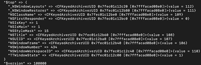 example of $top code