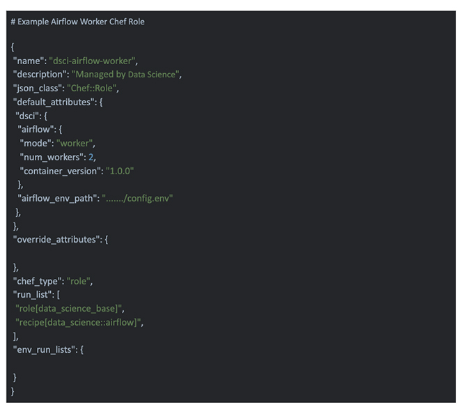 multicolored code on black background