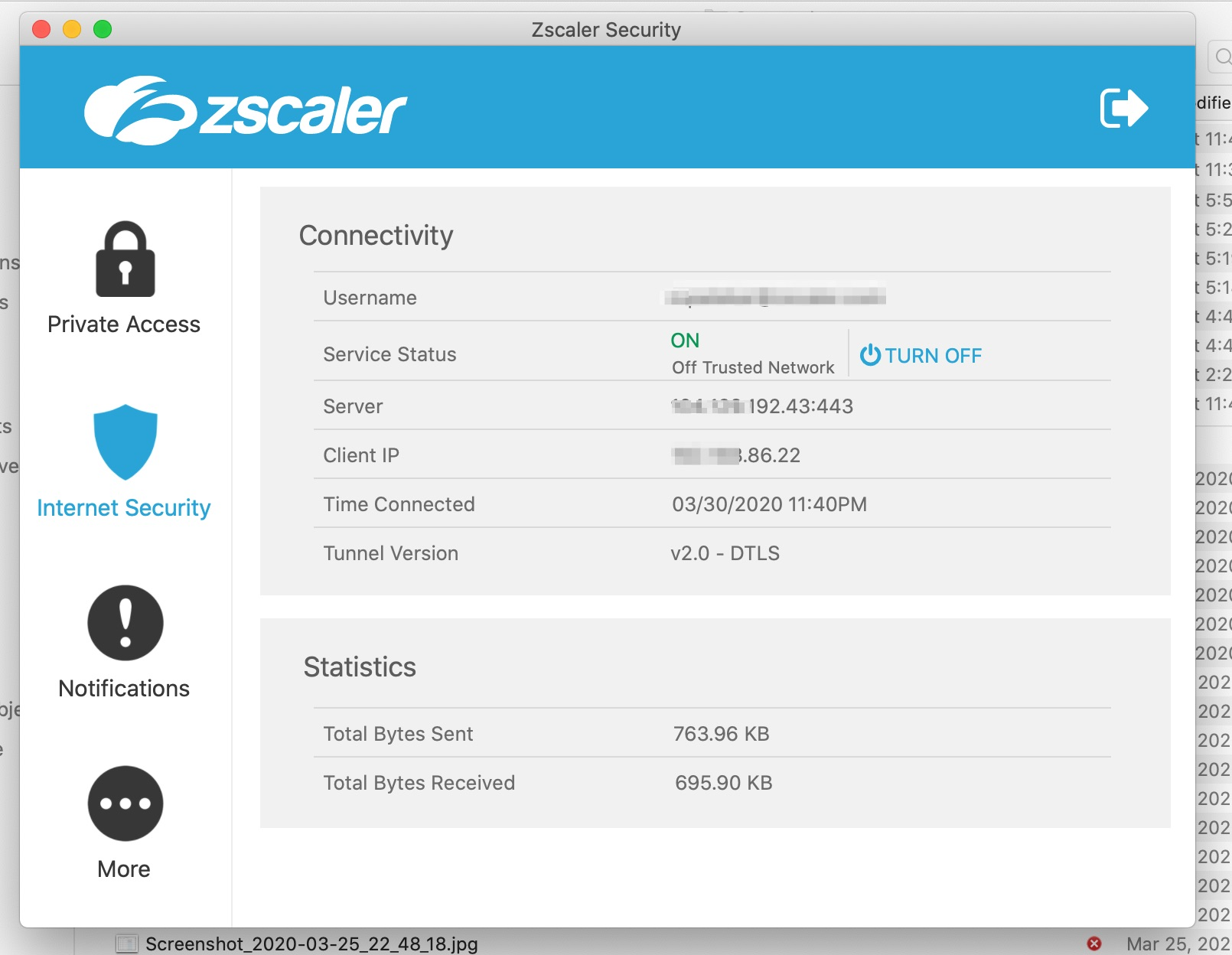 zscaler zpa internet security