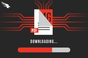 Graphic of PDF downloading