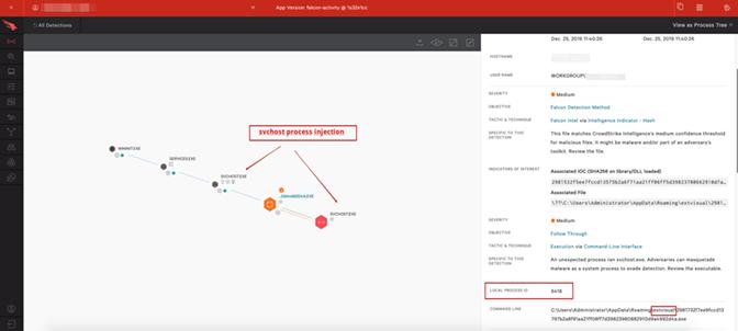 Falcon UI screenshot