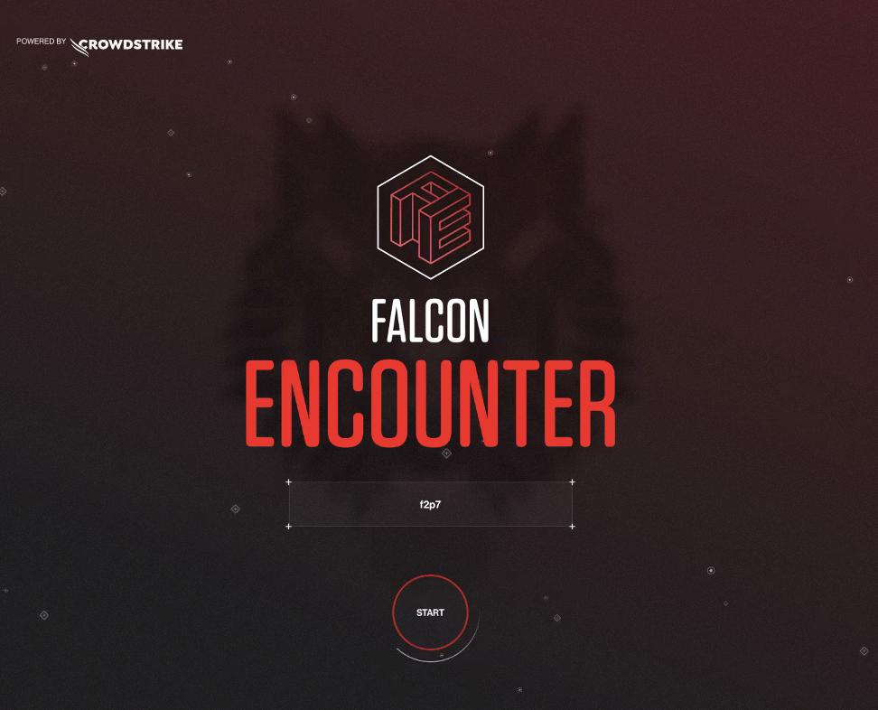 screenshot of Falcon Encounter game