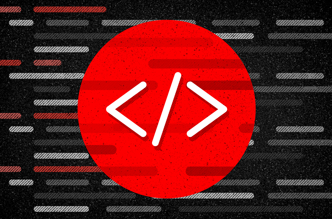 Red circle Java script