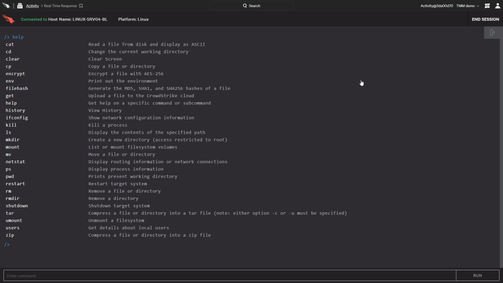 Real Time Response for Linux