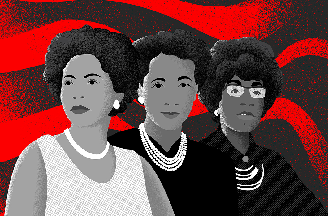 Black Women Portrait