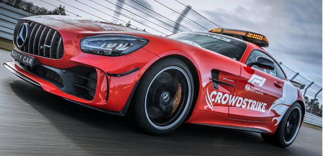 CrowdStrike Protects, On And Off The Track