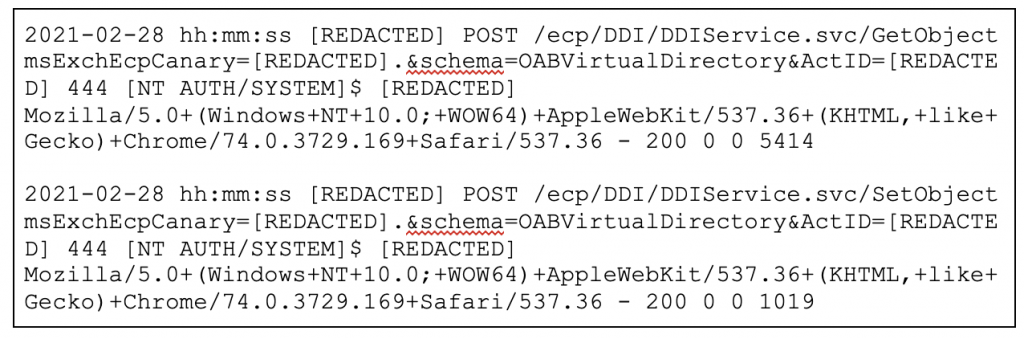 Figure 13. Posts to DDIService.svc