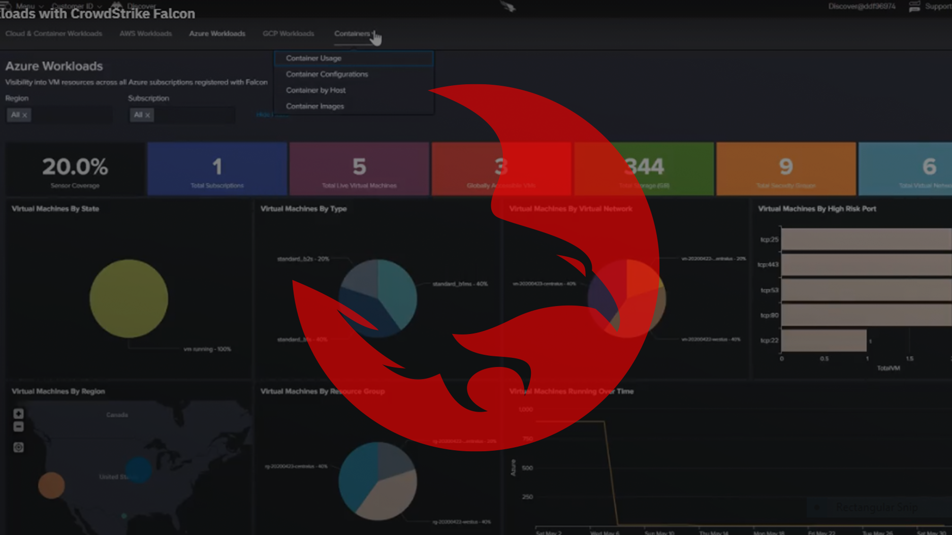 Protecting Cloud and Container Workloads with CrowdStrike Falcon