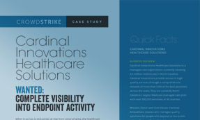 CASE STUDY: CARDINAL INNOVATIONS HEALTHCARE SOLUTIONS