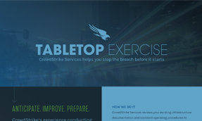 CrowdStrike Services – Tabletop Exercises