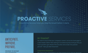 CrowdStrike Services – Proactive Services