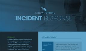 CrowdStrike Services – Incident Response