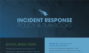IR Policy & Playbooks