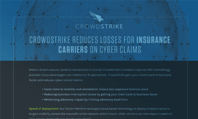 CrowdStrike IR Reduces Losses For Insurance Claims