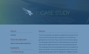 CASE STUDY: AIRLINE