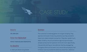 CASE STUDY: ENERGY