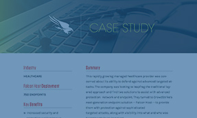 CASE STUDY: HEALTHCARE