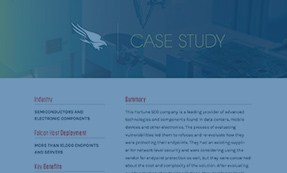 CASE STUDY: SEMICONDUCTOR AND ELECTRONIC COMPONENTS
