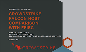 CROWDSTRIKE FALCON AND FFIEC COMPLIANCE