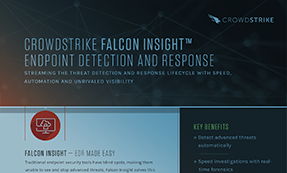 CrowdStrike Falcon Insight: Endpoint Detection & Response (EDR)
