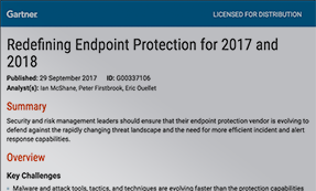 Gartner: Redefining Endpoint Protection For 2017 And 2018
