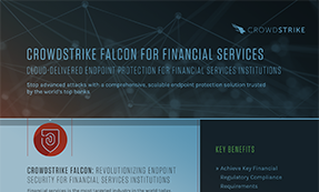 CrowdStrike Falcon For Financial Services