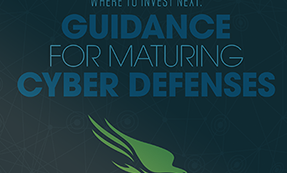 Guidance For Maturing Your Cyber Defenses