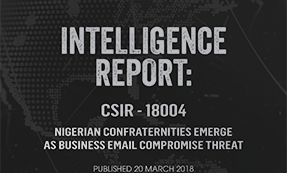 CrowdStrike Falcon Intelligence Report On Nigerian Business Email-Compromise Threat