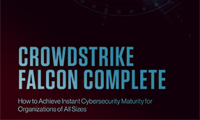CrowdStrike Falcon Complete: Instant Cybersecurity Maturity For Organizations Of All Sizes