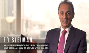 head of infosec department, Ed Sleiman