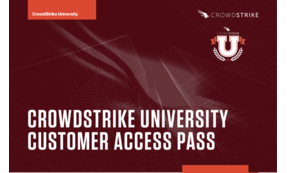 Customer Access Pass | CrowdStrike University