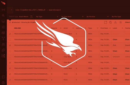 Crowdstrike Falcon Search Engine