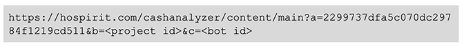 BokBot Proxy: Project ID/Bot ID values change code