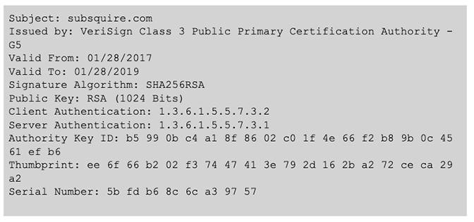 BokBot Proxy: SSL Cert for webinject and C2 servers