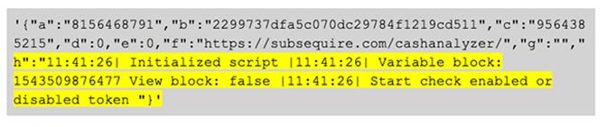 BokBot Proxy: Bot API sends logging data back to C2 code