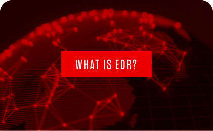 red what is edr banner graphic